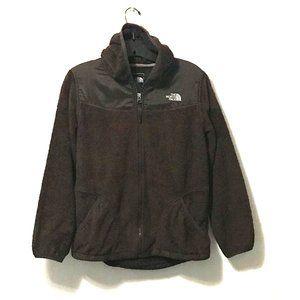 The North Face Denali Hooded Zip Up Fleece Jacket